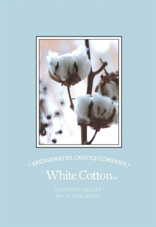 Bridgewater Candle Company White Cotton  Scented Envelope Sachet